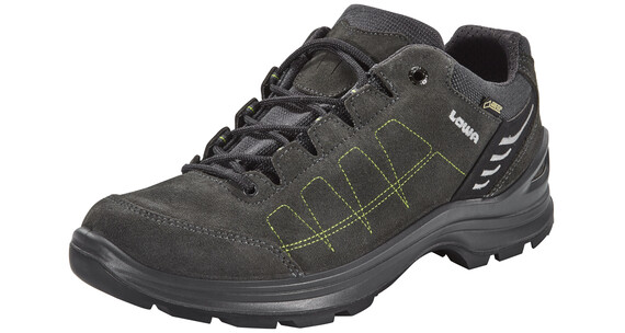 Lowa Tiago GTX Low Shoes Men anthrazit/limone
